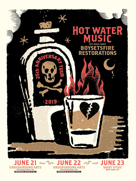 Hot Water Music -Philadelphia