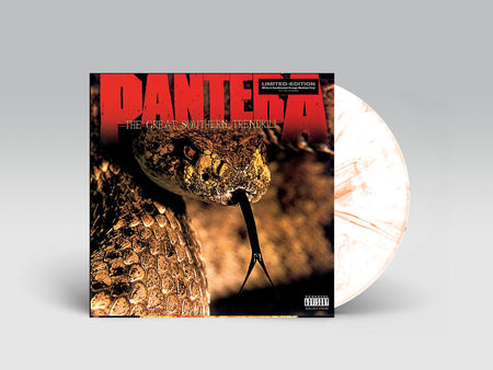 Pantera - Reinventing The Steel (White Marble + Yellow Vinyl)