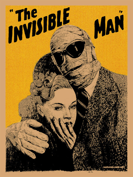 Famous Monsters - Invisible Man
