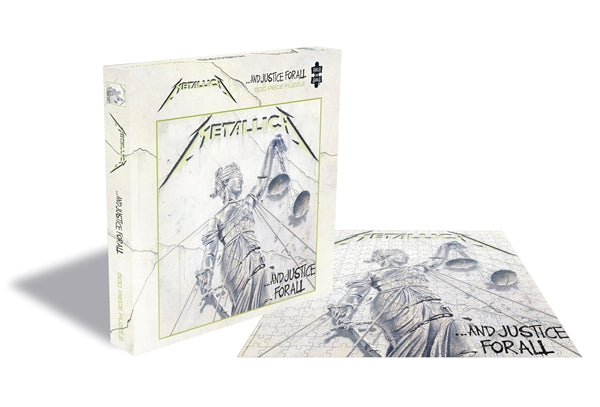 METALLICA AND JUSTICE FOR ALL (500 PIECE JIGSAW PUZZLE)