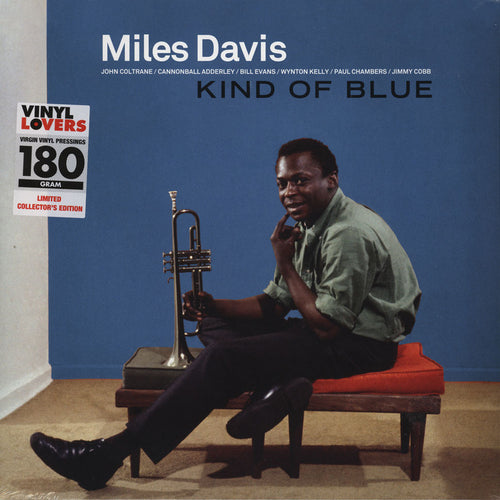 MILES DAVIS - KIND OF BLUE (180 GRAM-COLLECTORS EDITION)