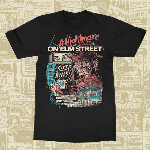 Halloween Horror Series - A Nightmare on Elm St Tee
