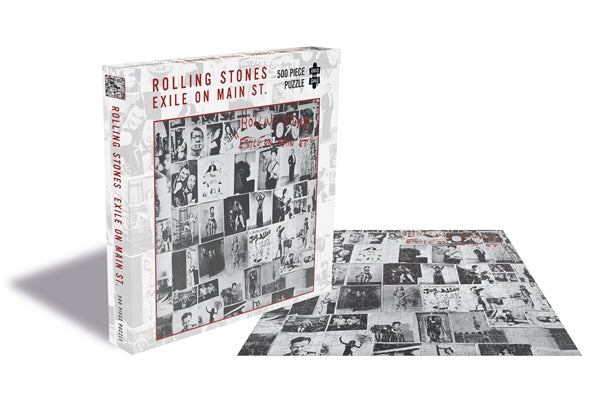 ROLLING STONES, THE EXILE ON MAIN ST. (500 PIECE JIGSAW PUZZLE)