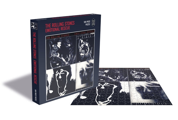 ROLLING STONES, THE EMOTIONAL RESCUE (500 PIECE JIGSAW PUZZLE)