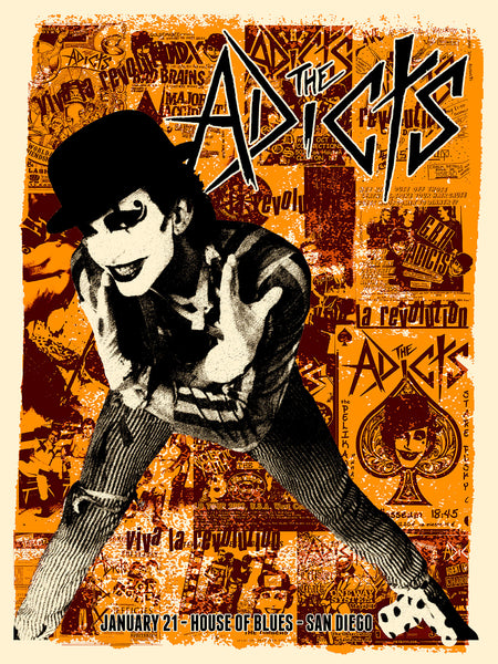 The Adicts - San Diego