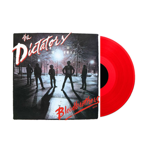THE DICTATORS - BLOODBROTHERS (RED VINYL)