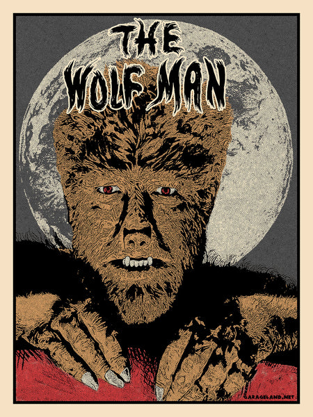 Famous Monsters - The Wolf Man