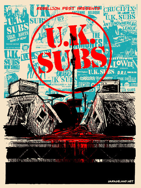 UK Subs - Rebellion Fest