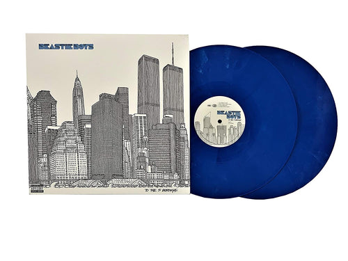 Beastie Boys - To The 5 Boroughs (Indie Exclusive Blue Vinyl)