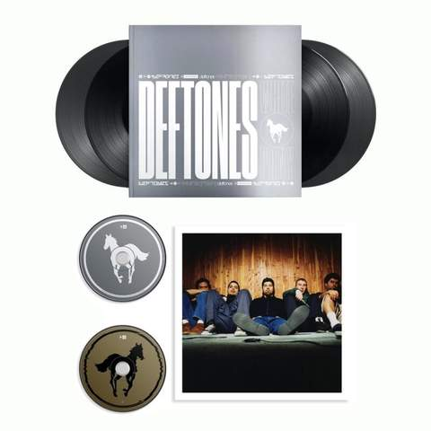 DEFTONES - White Pony (20th Anniversary Deluxe Edition) (Super Deluxe)(4LP)(2CD)(2 Double -LPs)