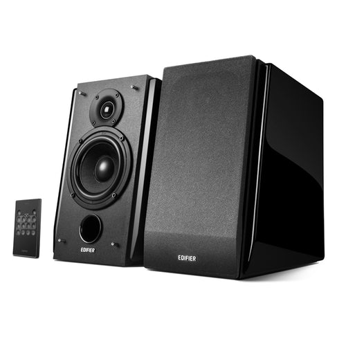 Edifier - R1850DB Powered Speakers w/ Bluetooth - Black