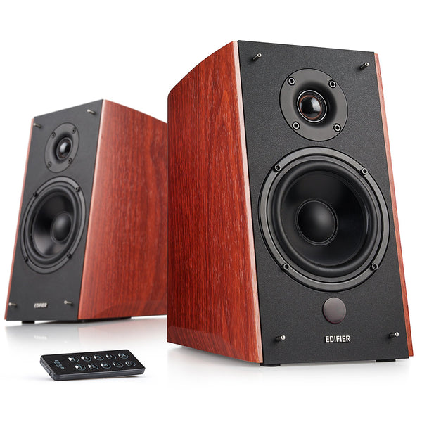 Edifier - R2000DB Powered Speakers w/ Bluetooth - Wood