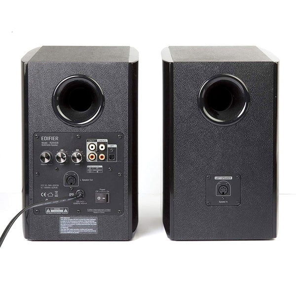 Edifier - R2000DB Powered Speakers w/ Bluetooth - Black