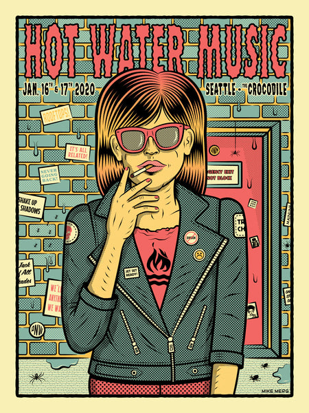 Hot Water Music - Portland