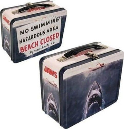 Jaws - No Swimming / Beach Closed (Tin Lunchbox)