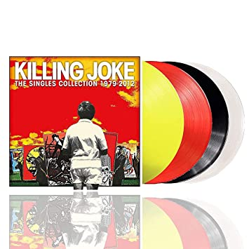Killing Joke - SINGLES COLLECTION 1979 - 2012 (4LP/YELLOW/RED/BLACK/CLEAR VINYL)