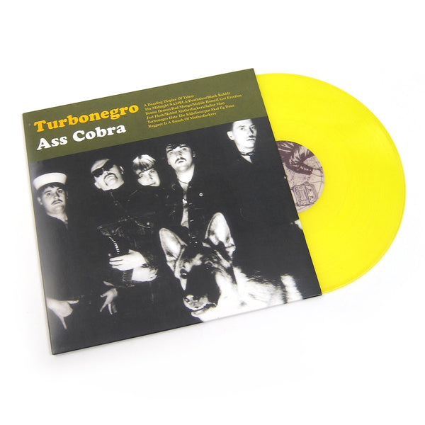 TURBONEGRO - ASS COBRA (YELLOW VINYL)