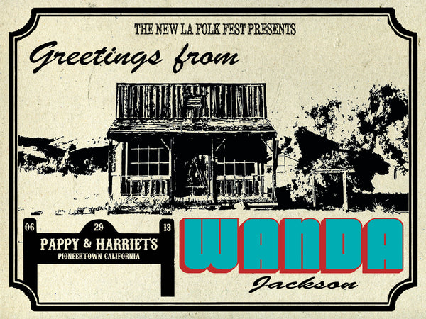 Wanda Jackson - Pappy and Harriets