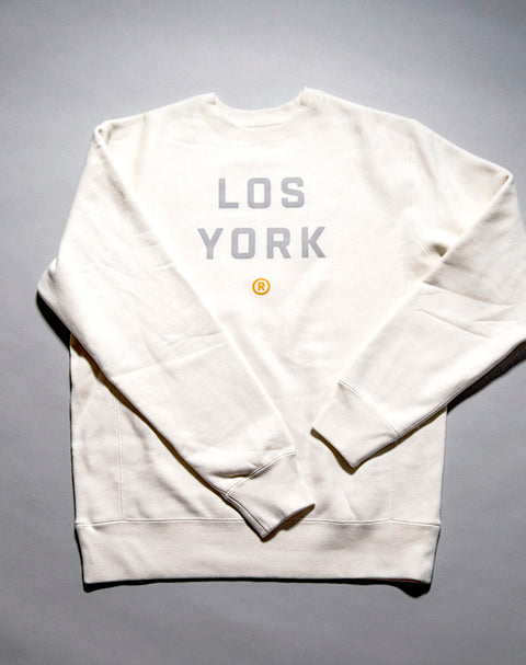 Los York Heavyweight Crewneck