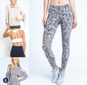 mono b clothing, leggings, sports bra, fashion gym, athletic clothing, trendy gym clothing, trendy work out attire