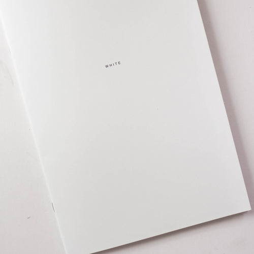 2x WHITE Notebook