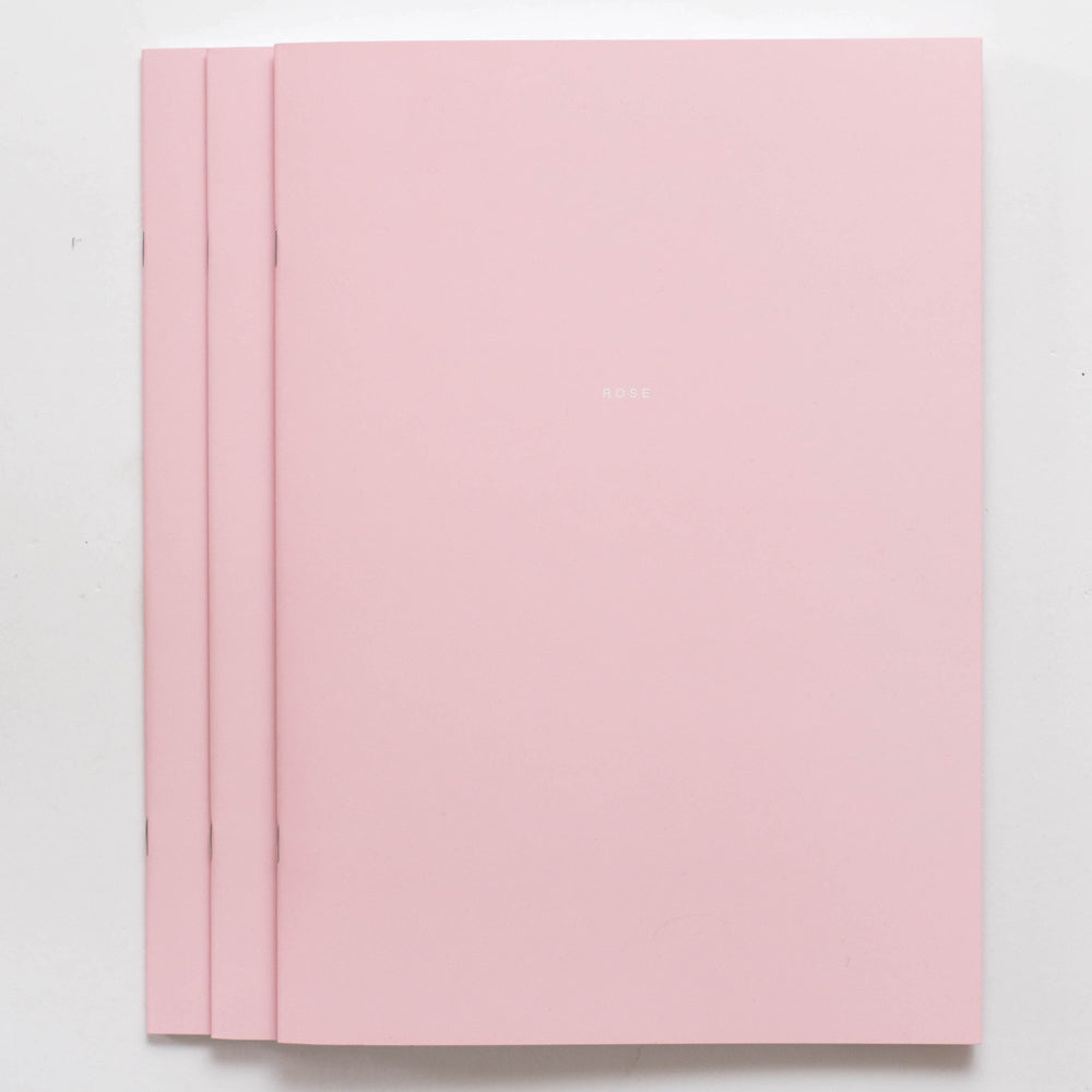 3x ROSE Notebook
