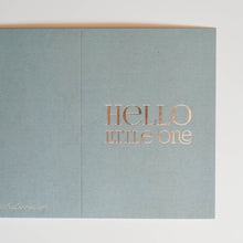 HELLO LITTLE ONE Card - Pink