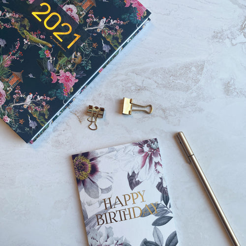 BIRTHDAY BUNDLE (Planner + Card)