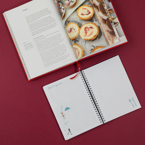 recipes at the back of your planner, choose your back sections, back sections that you like and need, recepti, recipes, personaliziran rokovnik, personalised planner, custom made, planner, journal, name on cover, ime na platnici, rokovnik, prilagojen rokovnik