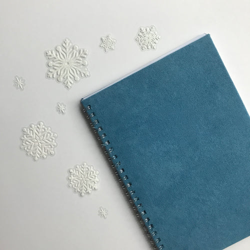 Personalised planner: SOFT LIGHT BLUE