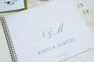 Custom made only: Wedding Guest Book
