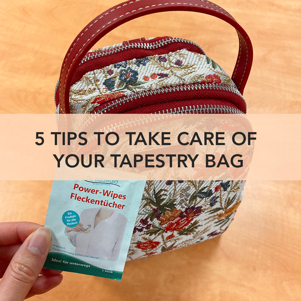 5 Tips To Take Care Of Your Tapestry Bag