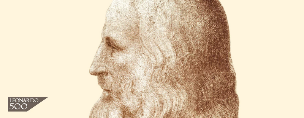 Portrait of Leonardo da Vinci attributed to Francesco Melzi