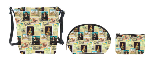 Da Vinci Stamp Design Tapestry Collection