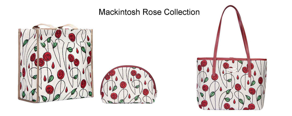 Signare tapestry Mackintosh rose collection