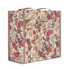 Flower Meadow Shopper Bag | Floral Tapestry Foldable Tote | SHOP-FLMD