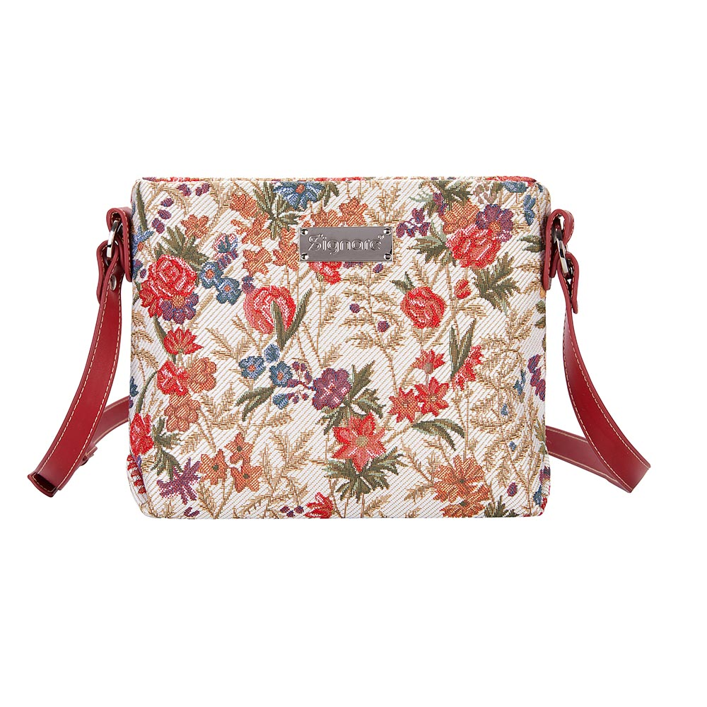 Flower Meadow Crossbody Bag | Floral Ladies Cross Body Bags | XB02-FLMD