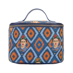 Frida Kahlo Icon Makeup Bag | Women's Makeup Case Vanity Bag | TOIL-FKICON