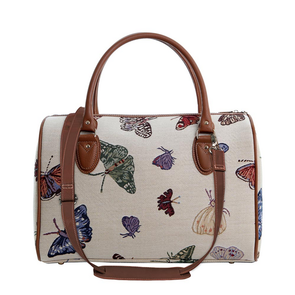 Butterfly Travel Bag | Tapestry Ladies Travel Luggage | TRAV-BUTT