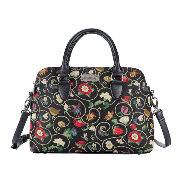 Jacobean Triple Compartment Bag | TRIP-JACOB