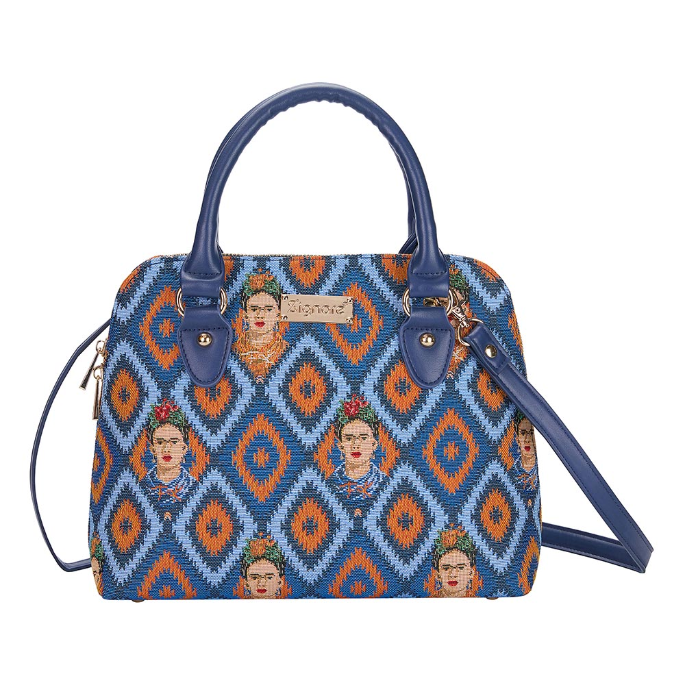 Frida Kahlo Icon Top-handle Shoulder Bag | Tapestry Shoulder Bag | CONV-FKICON