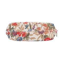 Flower Meadow Cosmetic Bag | Floral Art Tapestry Makeup Case | COSM-FLMD
