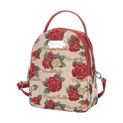 Frida Kahlo Rose Mini Pack | Small Backpack for Women | MIPK-FKROSE