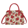 Frida Kahlo Rose Top-handle Shoulder Bag | Tapestry Shoulder Bag | CONV-FKROSE