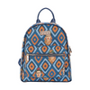 Frida Kahlo Icon Daypack | Blue Small Backpack | DAPK-FKICON