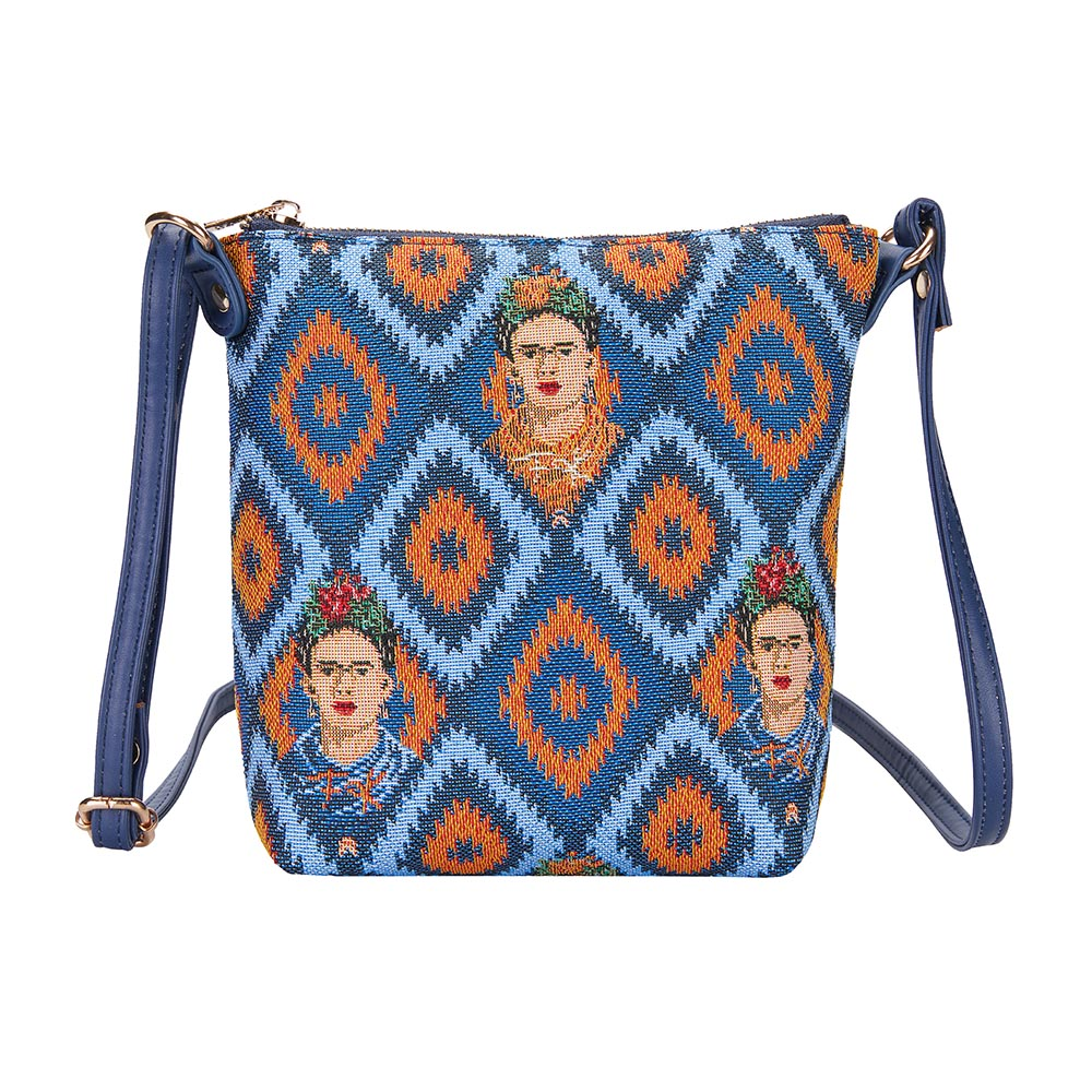 Frida Kahlo Icon Sling Bag | Blue Cross Body Bag | SLING-FKICON