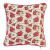 Frida Kahlo Rose Tapestry Cushion Cover | Floral 18x18 Cushion Covers | CCOV-FKROSE