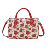 Frida Kahlo Rose Travel Bag | Floral Weekend Bag | TRAV-FKROSE