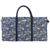 Jane Austen Blue Big Holdall | Blue Tapestry Travel Luggage | BHOLD-AUST