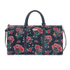 Frida Kahlo Poppy Big Holdall | Trendy Luggage Travel Bag | BHOLD-FKPOP
